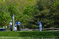 Rafael Cabrera Bello (ESP) wateches his tee shot on 13 during round 4 of the 2019 PGA Championship, Bethpage Black Golf Course, New York, New York,  USA. 5/19/2019.<br /> Picture: Golffile | Ken Murray<br /> <br /> <br /> All photo usage must carry mandatory copyright credit (© Golffile | Ken Murray)