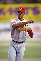 1996: Derrek Lee of the San Diego Padres during Arizona Fall League game at Phoenix Stadium in Phoenix,AZ.  Photo by Larry Goren/Four Seam Images