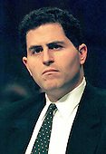"""Washington, DC - March 3, 1998 --Michael Dell, Chairman and CEO, Dell Computer Corporation appears before a United States Senate Committee on """"Market Change and Structural Change in the Software Industry"""" in Washington, DC on March 3, 1998.<br /> Credit: Ron Sachs / CNP"""