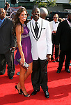 NFL player Terrell Owens (R) and guest arrive at the 2008 ESPY Awards held at NOKIA Theatre L.A. LIVE on July 16, 2008 in Los Angeles, California.