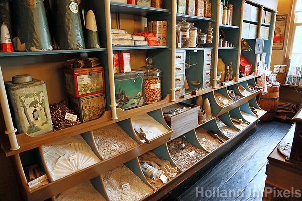 Nederland Zaanse Schans  2017 -    De allereerste Albert Heijn winkel.  Foto Berlinda van Dam / Hollandse Hoogte