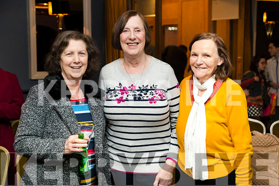Kathleen Leane, Patricia Curtin and Martina O'Donoghue, Knocknagoshel, enjoying Ballymac Strictly Come Dancing, at Ballygarry House Hotel & Spa, Tralee, on Saturday night last.