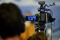 BRASÍLIA, DF, 27.11.2016 – TEMER-COLETIVA – O presidente Michel Temer, o presidente da Câmara dos Deputados, Rodrigo Maia e o presidente do Senado Federal, Renan Calheiros durante coletiva de imprensa no Palácio do Planalto neste domingo, 27. (Foto: Ricardo Botelho/Brazil Photo Press)
