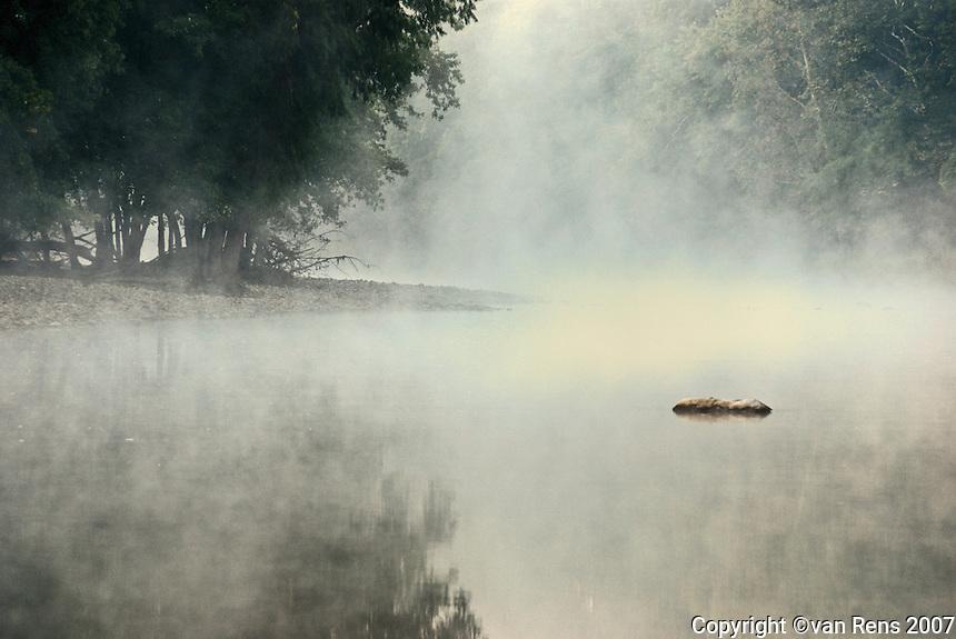 Foggy Maumee River