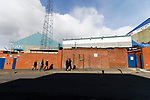 Early arrivals at Boundary Park. Oldham v Portsmouth League 1