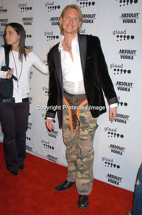 Carson Kressley of Queer Eye For The Straight Guy ..at the 15th Annual GLAAD Media Awards on April 12, 2004 ..at the Marriott Marquis Hotel. ..Photo by Robin Platzer, Twin Images