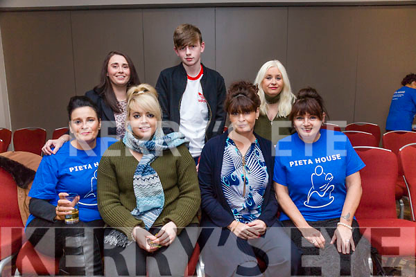 Enjoying the 'Strictly Come Dancing' event in aid of Pieta House at the Ashe Hotel on Thursday. Pictured front l-r Geraldine Moriarty, Rachel O'Hara, Susan O'Hare, Kathy Moriarty, Back l-r Rebecca Mason, Eoin Mason and Margaret Conway