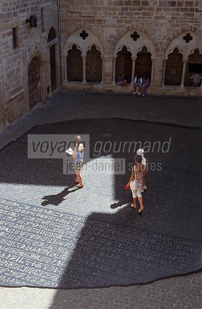 Europe/France/Midi-Pyrénées/46/Lot/Figeac: Place des Ecritures