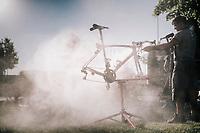 post-race bike cleaning at Team Trek-Segafredo<br /> <br /> 104th Tour de France 2017<br /> Stage 13 - Saint-Girons › Foix (100km)