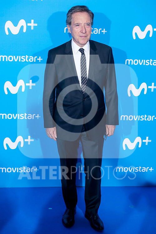 Inaki Gabilondo attends to blue carpet of presentation of new schedule of Movistar+ at Queen Sofia Museum in Madrid, Spain. September 12, 2018. (ALTERPHOTOS/Borja B.Hojas)