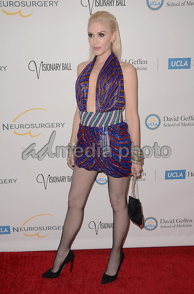 29 October - Beverly Hills, Ca - Gwen Stefani. Arrivals for the 2015 UCLA Neurosurgery Visionary Ball held at The Beverly Wilshire Hotel. Photo Credit: Birdie Thompson/AdMedia