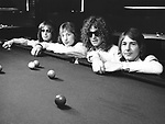 Mott The Hoople 1973  Overend Pete watts, Dale Griffin, Ian Hunter, Mick Ralphs..© Chris Walter.