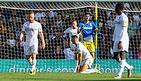 Leeds United's Kiko Casilla, Adam Forshaw, Kalvin Phillips and Ben White react to conceding late in the game<br /> <br /> Photographer Alex Dodd/CameraSport<br /> <br /> The EFL Sky Bet Championship - Leeds United v Swansea City - Saturday 31st August 2019 - Elland Road - Leeds<br /> <br /> World Copyright © 2019 CameraSport. All rights reserved. 43 Linden Ave. Countesthorpe. Leicester. England. LE8 5PG - Tel: +44 (0) 116 277 4147 - admin@camerasport.com - www.camerasport.com