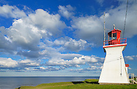 Richibucto Head (Cap Lumière) Lighthouse in Northumberland Strait <br />