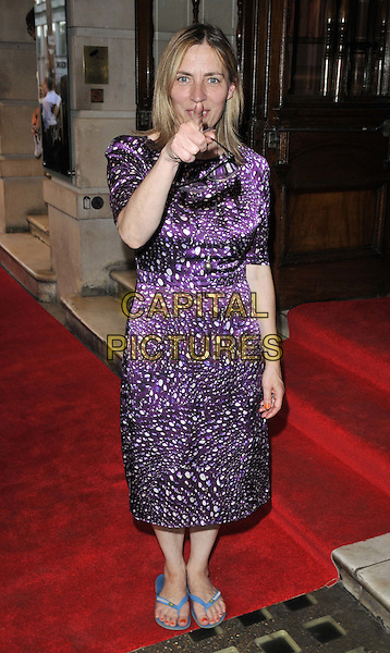 LONDON, ENGLAND - JULY 23: Saskia Reeves attends the 'Shakespeare in Love' press night performance, Noel Coward Theatre, St Martin's Lane, on Wednesday July 23, 2014 in London, England, UK. <br /> CAP/CAN<br /> &copy;Can Nguyen/Capital Pictures