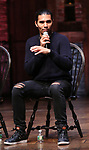 """Anthony Lee Medina during the eduHAM Q & A before The Rockefeller Foundation and The Gilder Lehrman Institute of American History sponsored High School student #EduHam matinee performance of """"Hamilton"""" at the Richard Rodgers Theatre on October 30, 2019 in New York City."""