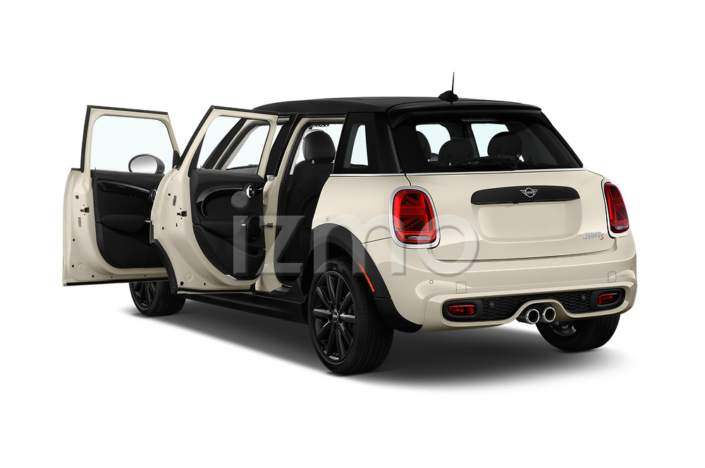 Car images close up view of a 2019 Mini Hardtop 4 Door Cooper S Signature 5 Door Hatchback doors