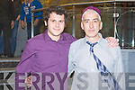 Alex Liebhart and John Barry enjoying the Beru Christmas party at the Carlton hotel, Tralee on Saturday.