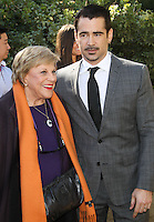 PALM SPRINGS, CA - JANUARY 05: Kaye Ballard, Colin Farrell arriving at Variety's Creative Impact Awards And 10 Directors to Watch Brunch during the 25th Annual Palm Springs International Film Festival held at Parker Palm Springs on January 5, 2014 in Palm Springs, California. (Photo by Xavier Collin/Celebrity Monitor)