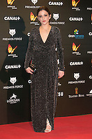 Marina Salas attends the Feroz Cinema Awards 2015 at Las Ventas, Madrid,  Spain. January 25, 2015.(ALTERPHOTOS/)Carlos Dafonte) /NortePhoto<br /> <br /> nortePhoto.com