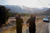 Sylmar wildfire, Novermber 2008, California, USA