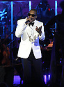 "Rapper Shawn "" Jay-Z"" Carter is seen performing on stage at the Jay-Z at Carnegie Hall performance at Carnegie Hall in New York City on Feb. 06, 2012. (AP Photo/ Donald Traill)"