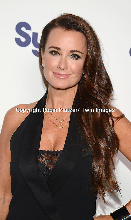 Kyle Richards attend the NBCUniversal Cable Entertainment Upfront <br /> on May 15, 2014 at The Javits Center North Hall in New York City, New York, USA.