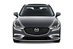 Car photography straight front view of a 2018 Mazda Mazda6 Grand Touring Reserve 4 Door Sedan