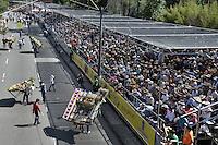 MEDELLIN-COLOMBIA, 7-08-2016.Feria de las Flores . Desfile de silleteros  ./ Flower Fair . Photo:VizzorImage / Alejandro Rosales / Contribuidor