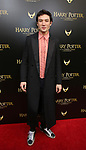 Ezra Miller attends the Broadway Opening Day performance of 'Harry Potter and the Cursed Child Parts One and Two' at The Lyric Theatre on April 22, 2018 in New York City.
