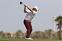 Minkyu Kim (KOR) during the final round of the Ras Al Khaimah Challenge Tour Grand Final played at Al Hamra Golf Club, Ras Al Khaimah, UAE. 03/11/2018<br /> Picture: Golffile | Phil Inglis<br /> <br /> All photo usage must carry mandatory copyright credit (&copy; Golffile | Phil Inglis)