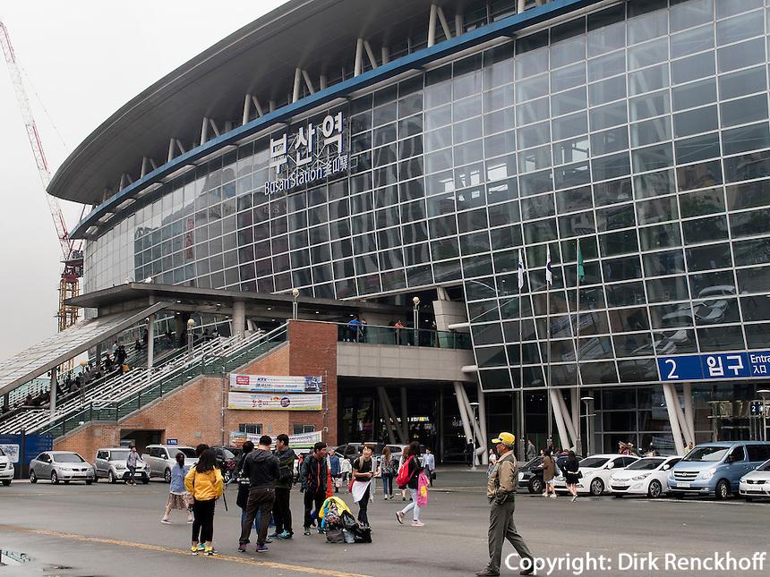 Hauptbahnhof Busan Station, Busan, Gyeongsangnam-do, S&uuml;dkorea, Asien<br /> Main station Lotte, Busan,  province Gyeongsangnam-do, South Korea, Asia