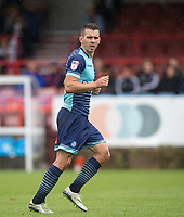 Matt Bloomfield of Wycombe Wanderers during the pre season friendly match between Aldershot Town and Wycombe Wanderers at the EBB Stadium, Aldershot, England on 22 July 2017. Photo by Andy Rowland.