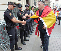 2016 09 30 Catalonia Barcelona a day before  ilegal polling
