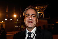 SAO PAULO, SP, 02 AGOSTO 2012 - ELEICOES 2012 - DEBATE BAND - PREFEITURA DE SP -Alexandre Shinaider candidato a Vice prefeitura durante debate da Tv Bandeirantes de Sao Paulo, nesta quinta-feira, na regiao sul da capital paulista. (FOTO: VANESSA CARVALHO / BRAZIL PHOTO PRESS).