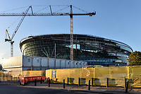 Current state of building of the new Tottenham Hotspur Stadium (White Hart Lane) at High Road, London, England on 28 September 2018. Photo by Vince  Mignott.