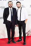 """Felix Sabroso and Jau Fornes during the premiere of the spanish film """"Un Monstruo Viene a Verme"""" of J.A. Bayona at Teatro Real in Madrid. September 26, 2016. (ALTERPHOTOS/Borja B.Hojas)"""