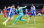 19.01.2020, OLympiastadion, Berlin, GER, DFL, 1.FBL, Hertha BSC VS. Bayern Muenchen, <br /> DFL  regulations prohibit any use of photographs as image sequences and/or quasi-video<br /> im Bild Marvin Plattenhardt (Hertha BSC Berlin #21), Rune Jarstein (Hertha BSC Berlin #22), Jordan Torunarigha (Hertha BSC Berlin #25)<br /> <br />       <br /> Foto © nordphoto / Engler