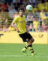 FUSSBALL       DFB POKAL 1. RUNDE        SAISON 2013/2014 SV Wilhelmshaven - Borussia Dortmund    03.08.2013 Mats Hummels (Borussia Dortmund) am Ball