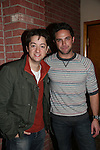Bradford Anderson & Brandon Barash - General Hospital - appeared by way of Coastal Entertainment on December 6, 2009 at Uncle Vinny's/Ferrera's Cafe in Point Pleasant, New Jersey. They sang for the fans, answered questions, signed photos and posed for photos. (Photos by Sue Coflin/Max Photos)