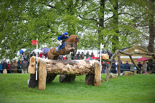 2.5.2010:,  Badminton Cross Country, Karin Donckers of Belgium, on SS Jet at Fence 3,