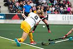 AMSTELVEEN - Hockey - Hoofdklasse competitie dames. AMSTERDAM-DEN BOSCH (3-1) . Sian Keil (Den Bosch)   COPYRIGHT KOEN SUYK