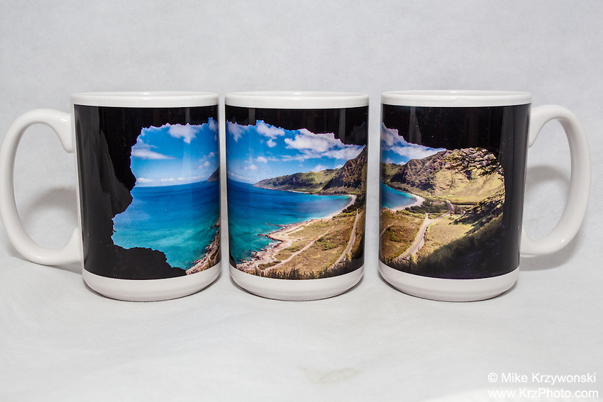 15 oz. Mug   - Upper Makua Cave - $25 + $6 shipping.<br />