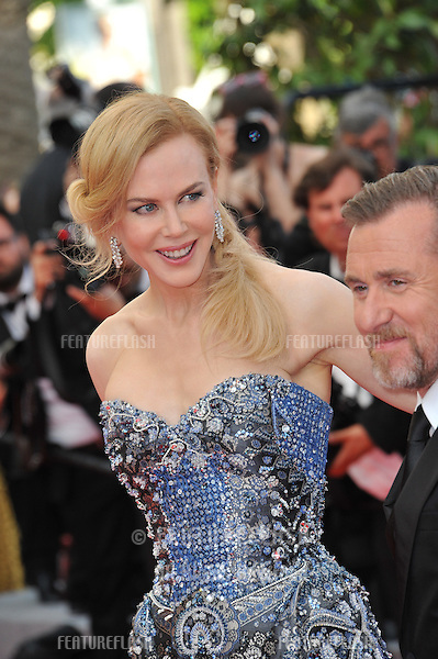 Nicole Kidman &amp; Tim Roth at the gala premiere of their movie &quot;Grace of Monaco&quot; at the 67th Festival de Cannes.<br /> May 14, 2014  Cannes, France<br /> Picture: Paul Smith / Featureflash