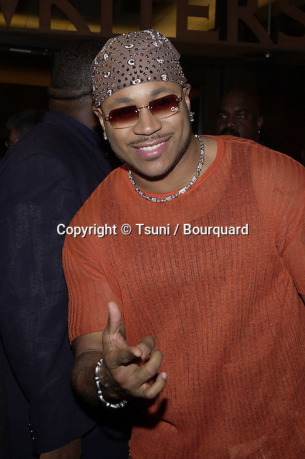 """LL Cool J  arriving at the premiere of """" Kingdom Come""""  at the Writer Guild Awards in Los Angeles  4/4/2001             -            LLCoolJ02.jpg"""