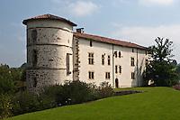 Europe/France/Aquitaine/64/Pyrénées-Atlantiques/Pays-Basque/Espelette: Château des Barons d'Ezpeleta