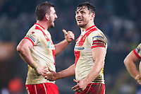 Picture by Alex Whitehead/SWpix.com - 10/03/2017 - Rugby League - Betfred Super League - Hull FC v St Helens - KCOM Stadium, Hull, England - St Helens' Jon Wilkin.
