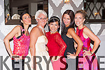 Youlia Zifarova Tralee, Catherine O'Connor Listowel, Linda Finnegan Killarney, Kate Wojciechowska killarney and Helen Leahy Ardfert at the Zumba Salsa Christmas Ball with a Latin Twist in the Killarney heights on Friday night