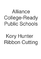 ALLIANCE Kory Hunter Ribbon Cutting