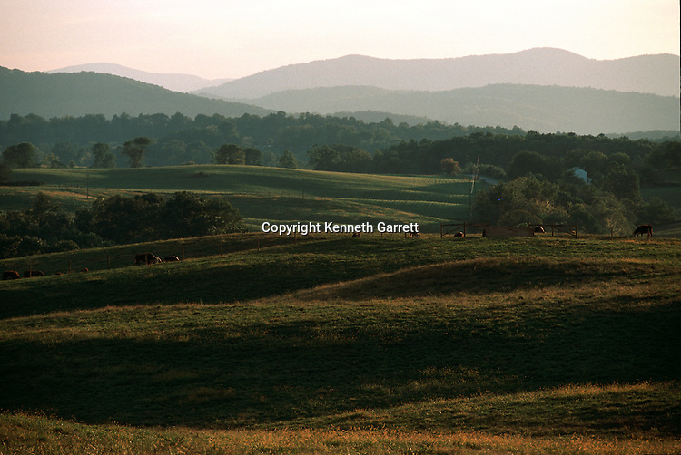 Virginia; Fauquier County; Hallowed Ground; The Plains; Blue Ridge Mountains